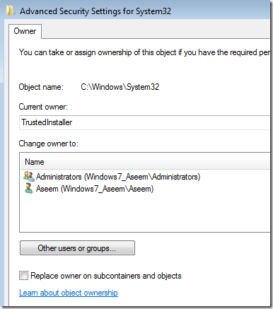 [Windows 7 - how to delete files protected by ...